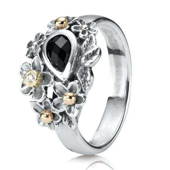 Pandora Jewelry - Pandora Dew Drops on Flowers Ring